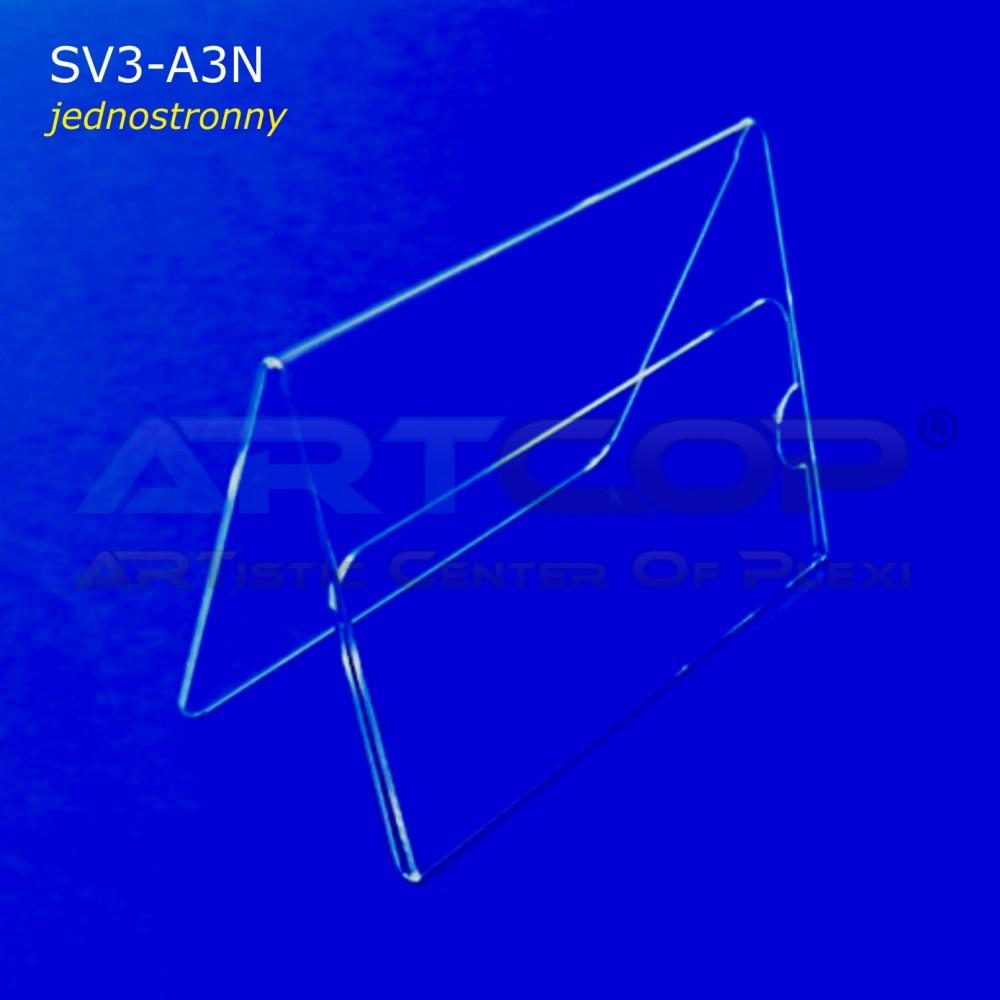 Stojak A4 Poziom typ A, konferencyjny jednostronny - 1/2 A3