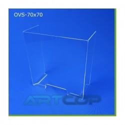 Osłona ladowa antywirusowa OVS - 70cm x 70cm