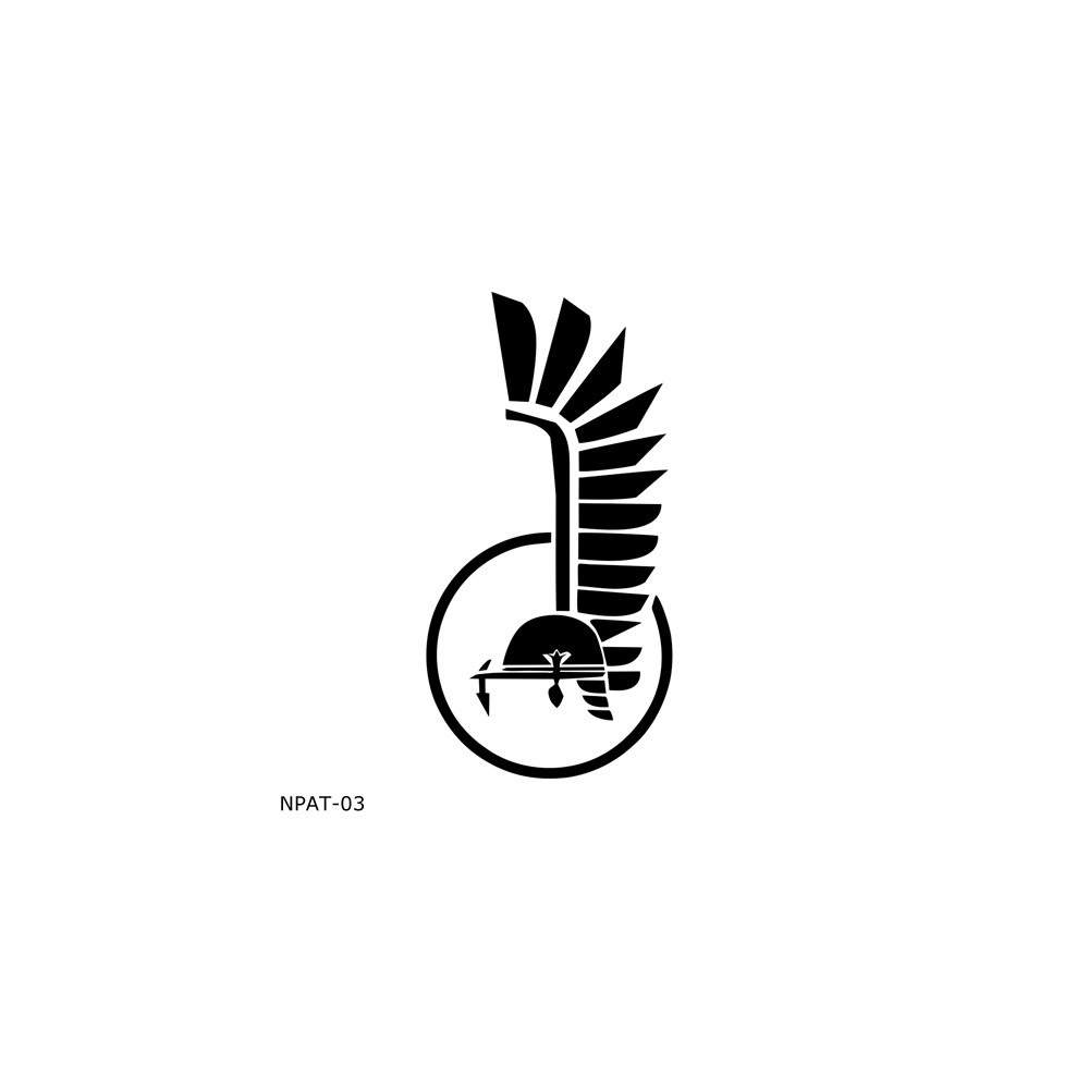 Naklejka piktogram Husaria...