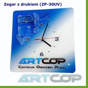 Zegar ścienny z indywidualnym nadrukiem