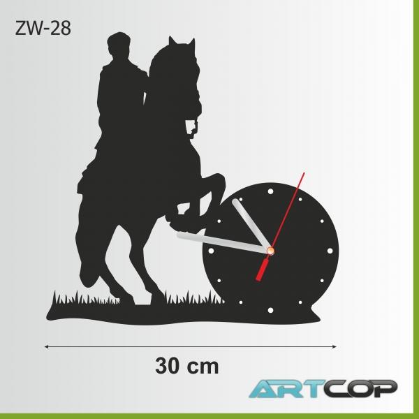 Zegar ścienny - KOŃ