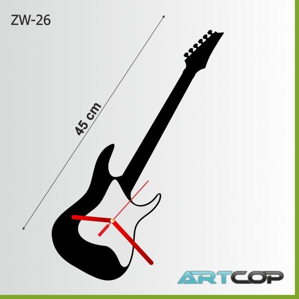 copy of Zegar ścienny - GITARA