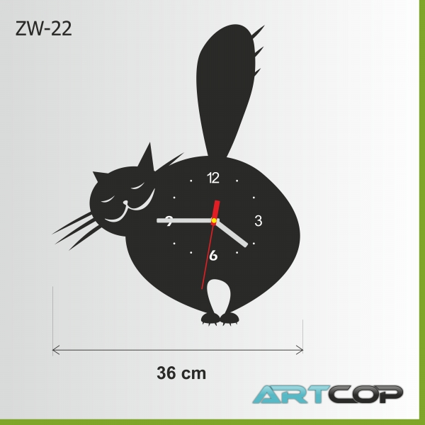 Zegar ścienny - KOCISKO poz.2