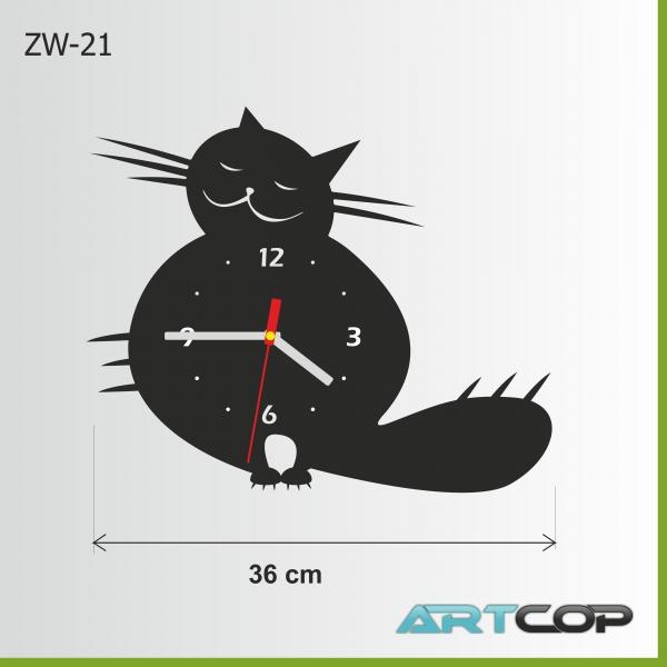 Zegar ścienny - KOCISKO poz.1