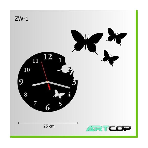 Zegar ścienny - MOTYLE