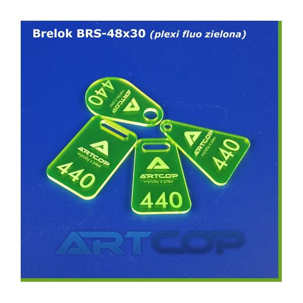 Brelok BRS-48x30 z plexi...