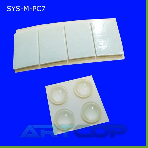 Stopki antypoślizgowe + taśma dwustronna do mocowania stojaków na lody PC5 i PC7