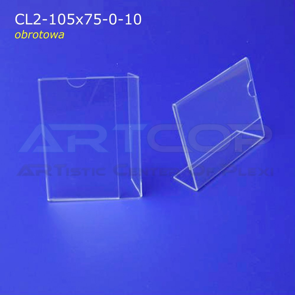 Cenówka CL2-105x75 - 10szt. (obrotowa)