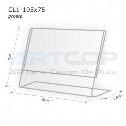 Cenawka 105x75 prosta CL1
