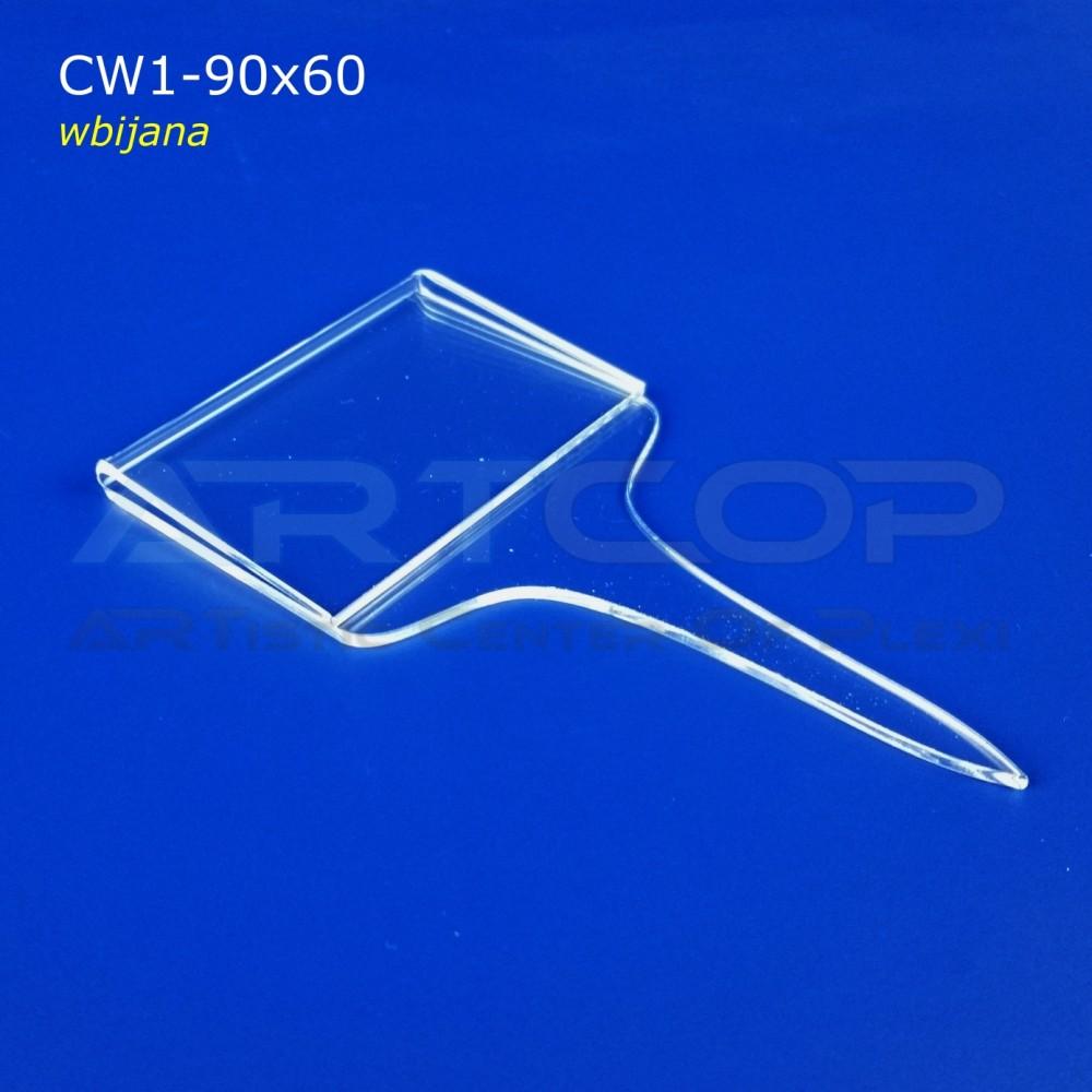 Cenówka 90x60 wbijana CW1