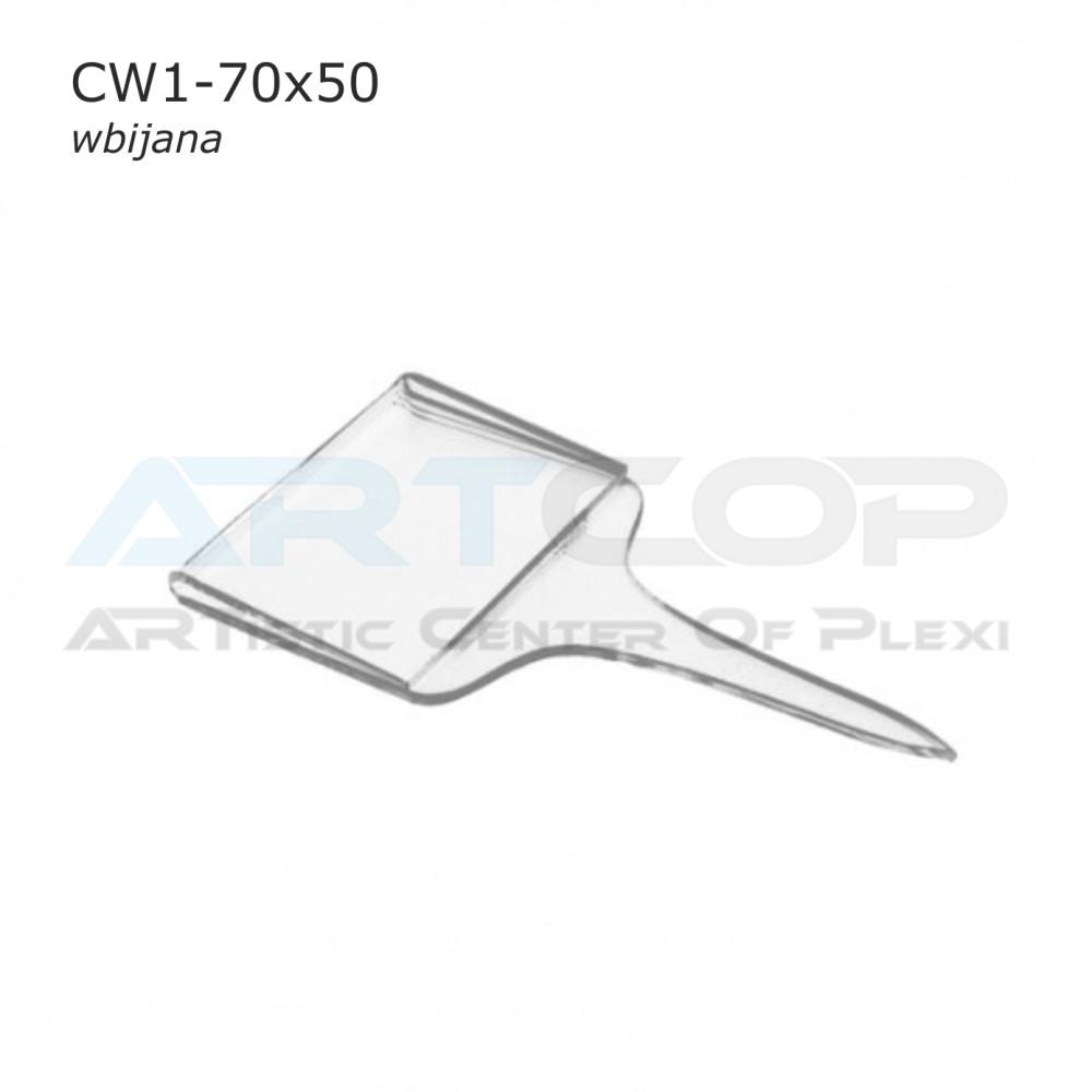 Cenówka 70x50 wbijana CW1