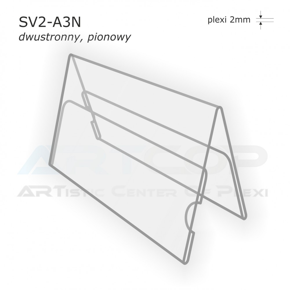 Stojak konferencyjny dwustronny SV2-A3N