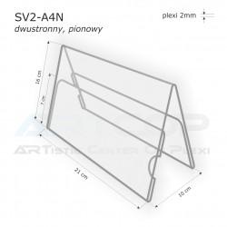 Stojak konferencyjny dwustronny SV2-A4N