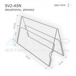 Stojak konferencyjny dwustronny SV2-A5N