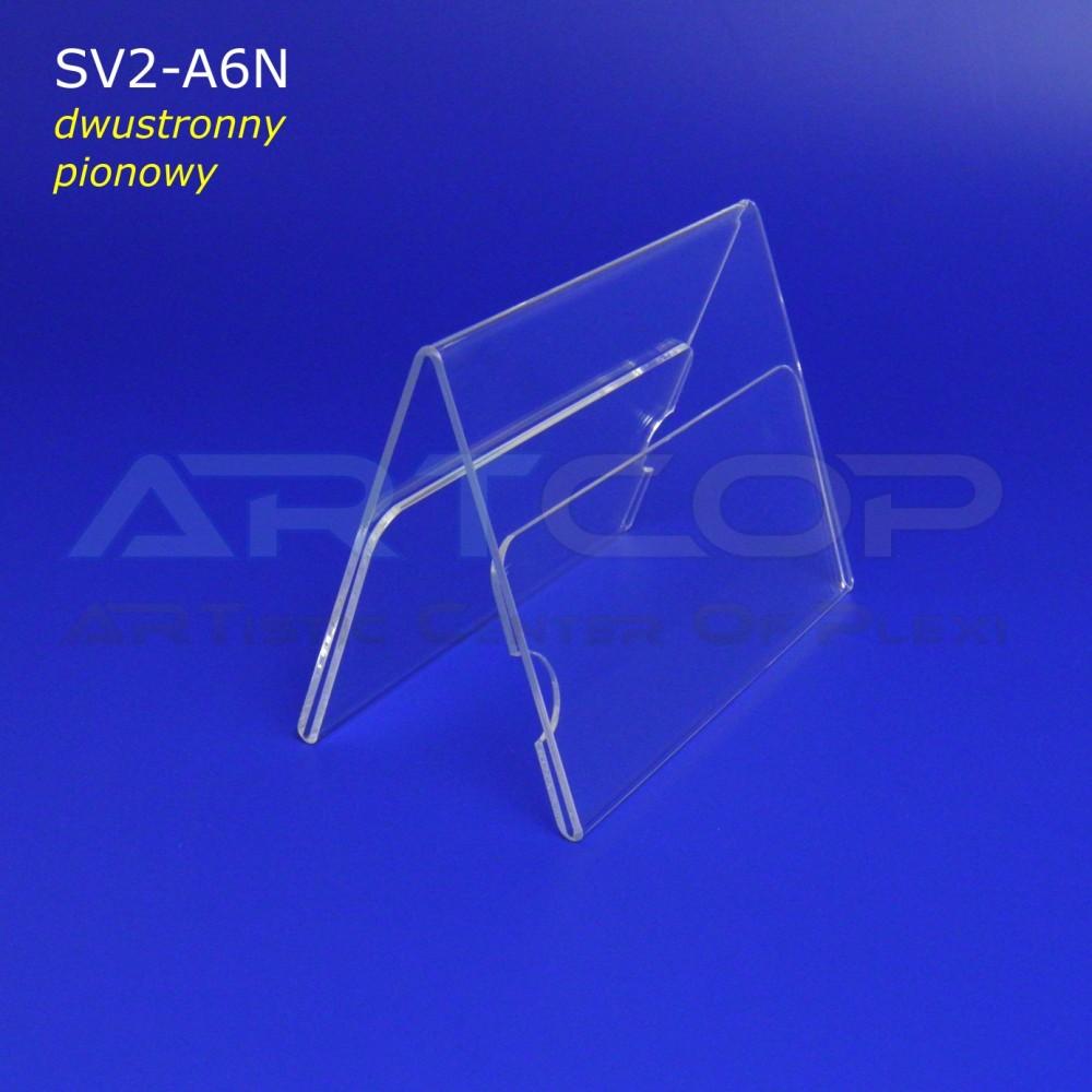 Stojak konferencyjny dwustronny typ A - 2 x A7 poziomo
