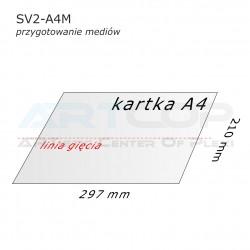 Stojak konferencyjny dwustronny SV2-A4M