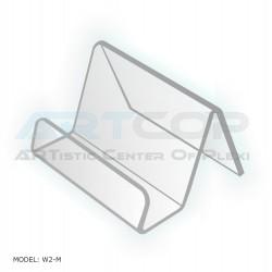 Wizytownik prosty z plexi W2-M EAN 5904012561120