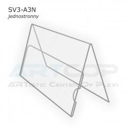Stojak A4 Poziom typ A, konferencyjny jednostronny SV3-A3N