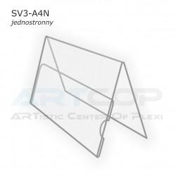 Stojak A5 Poziom typ A, konferencyjny jednostronny SV3-A4N