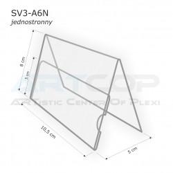 Stojak A7 Poziom typ A, konferencyjny jednostronny SV3-A6N