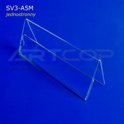 Stojak 1/2 A5 poziomo, konferencyjny jednostronny SV3-A5M
