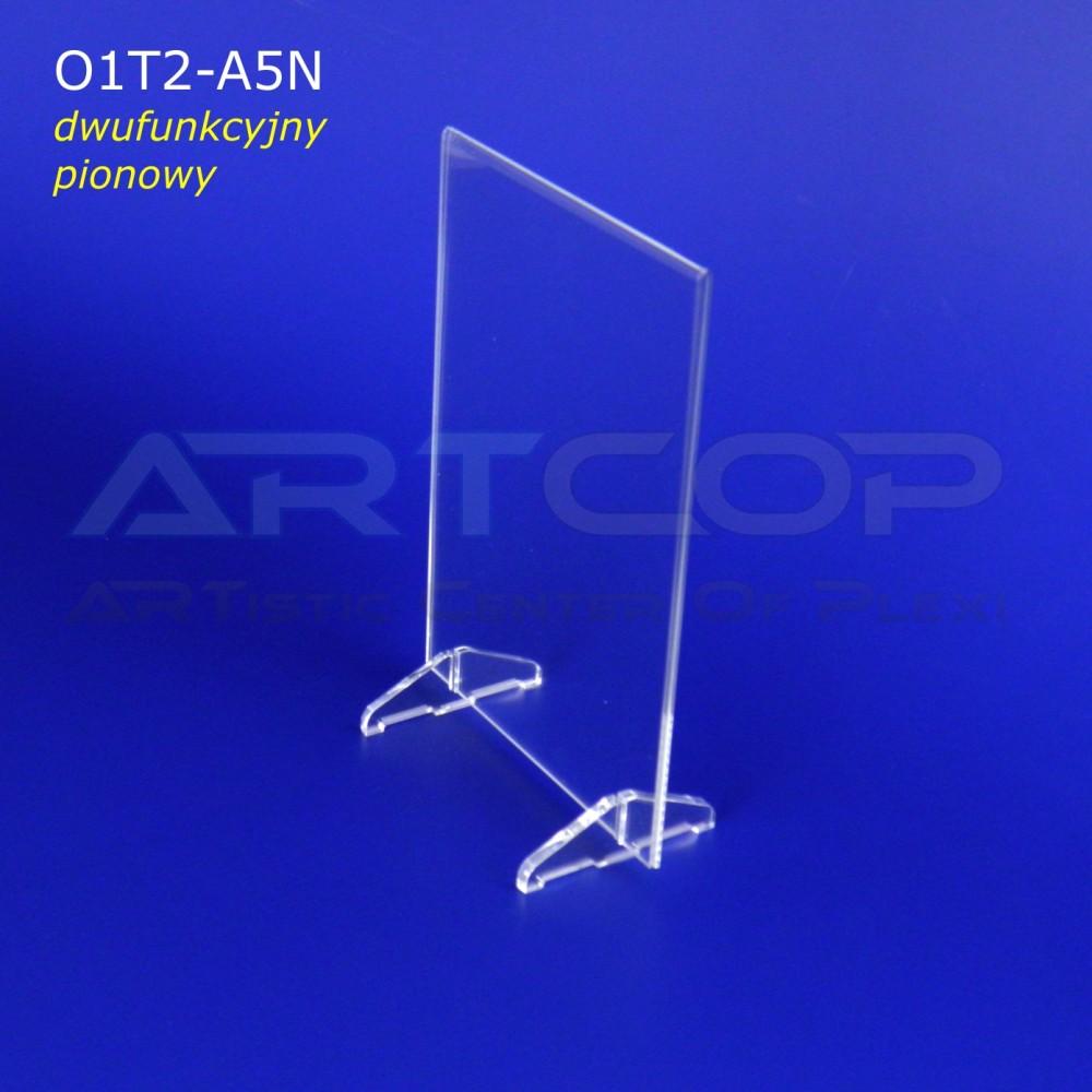 Menu A5 pion na stopkach lub Koszulka, Antyrama O1T2