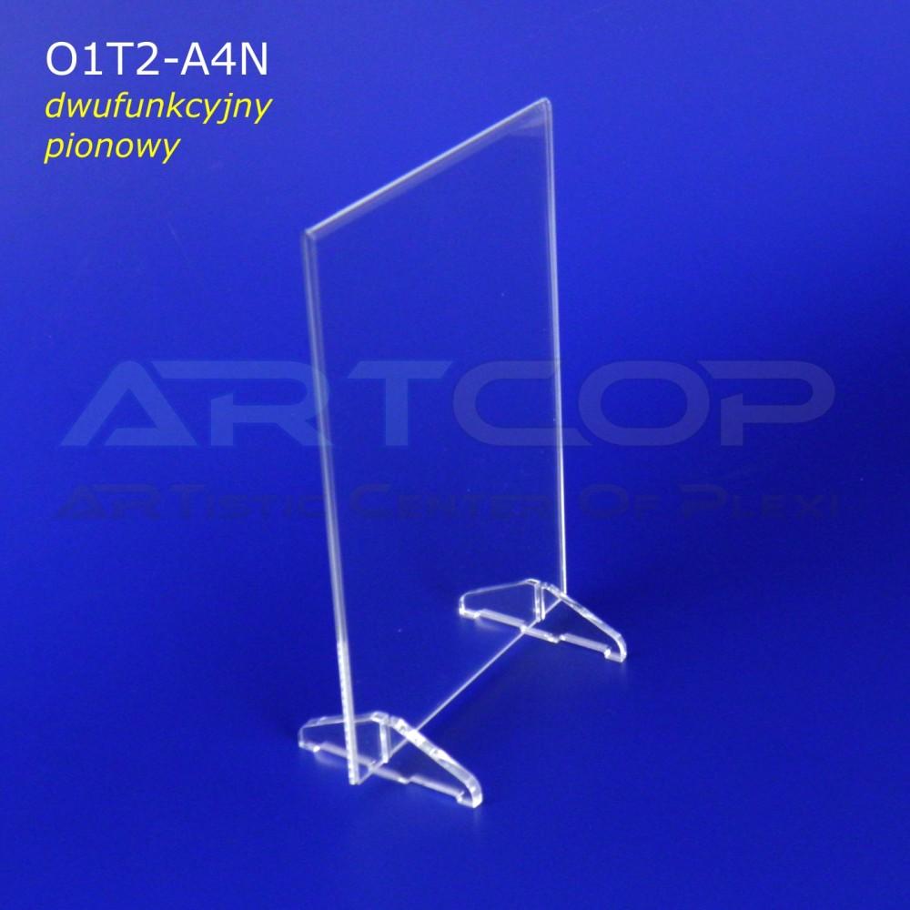 Menu A4 pion na stopkach lub Koszulka, Antyrama O1T2
