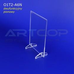 Menu A6 pion na stopkach lub Koszulka, Antyrama O1T2