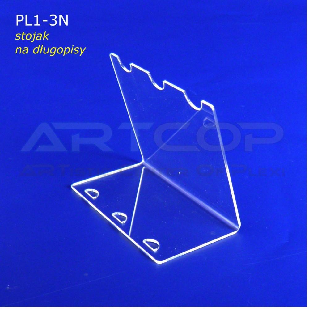 Podstawka PL1 na długopisy - pion na 3 szt.
