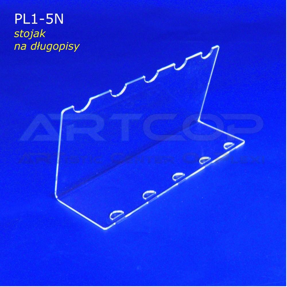 Podstawka PL1 na długopisy - pion na 5 szt.