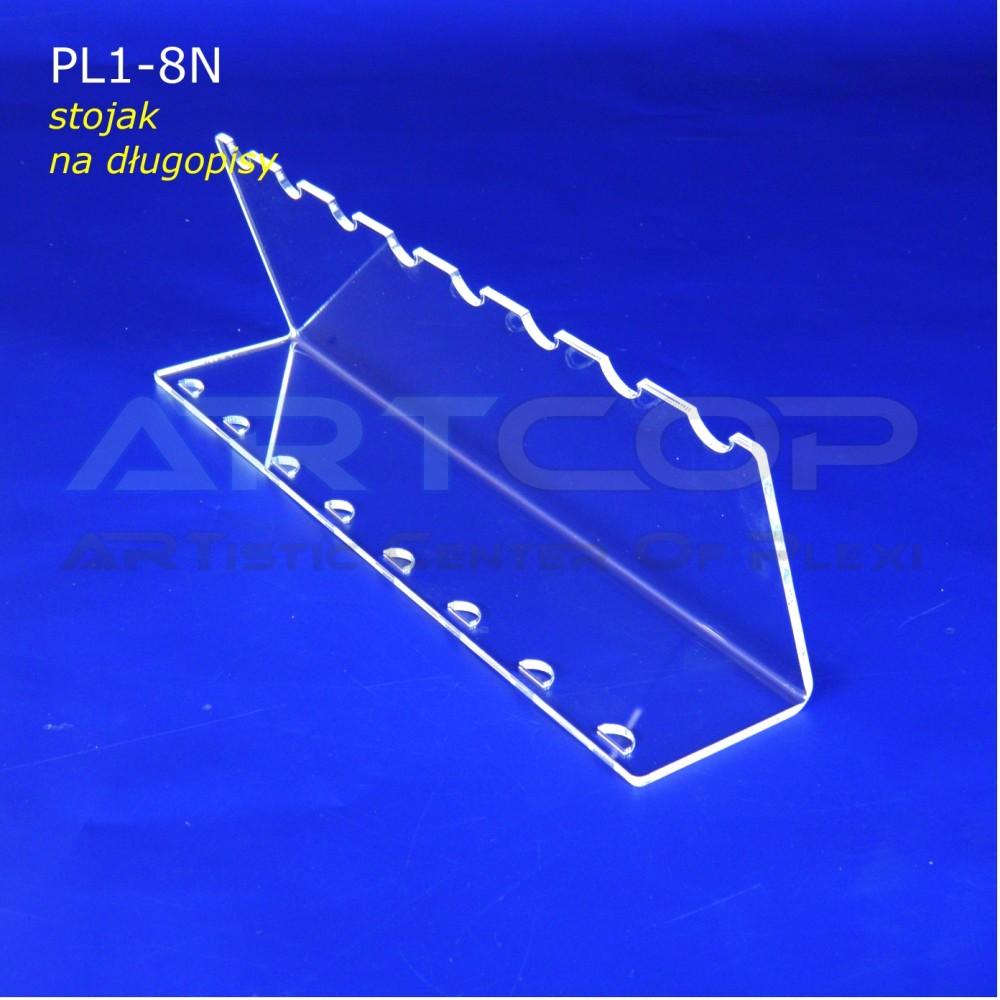 Podstawka PL1 na długopisy - pion na 8 szt.