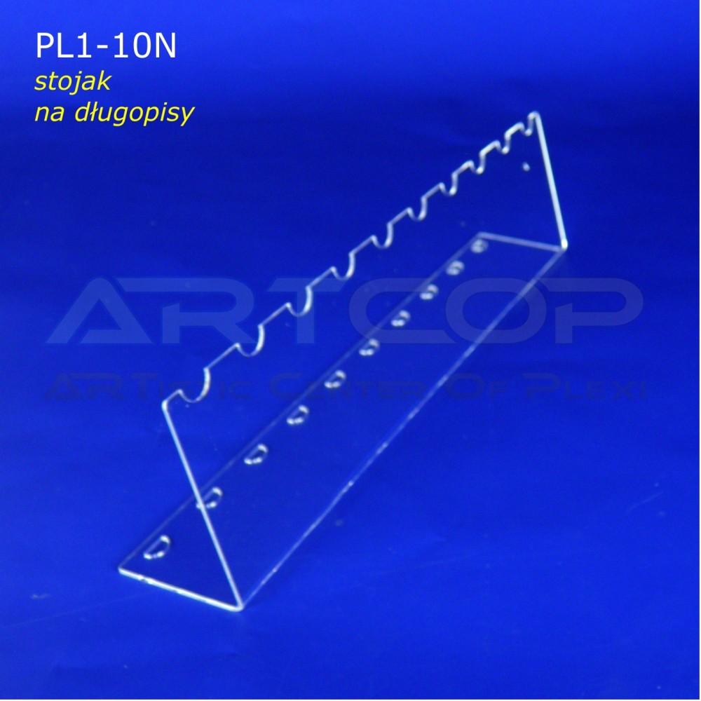 Podstawka PL1 na długopisy - pion na 10 szt.