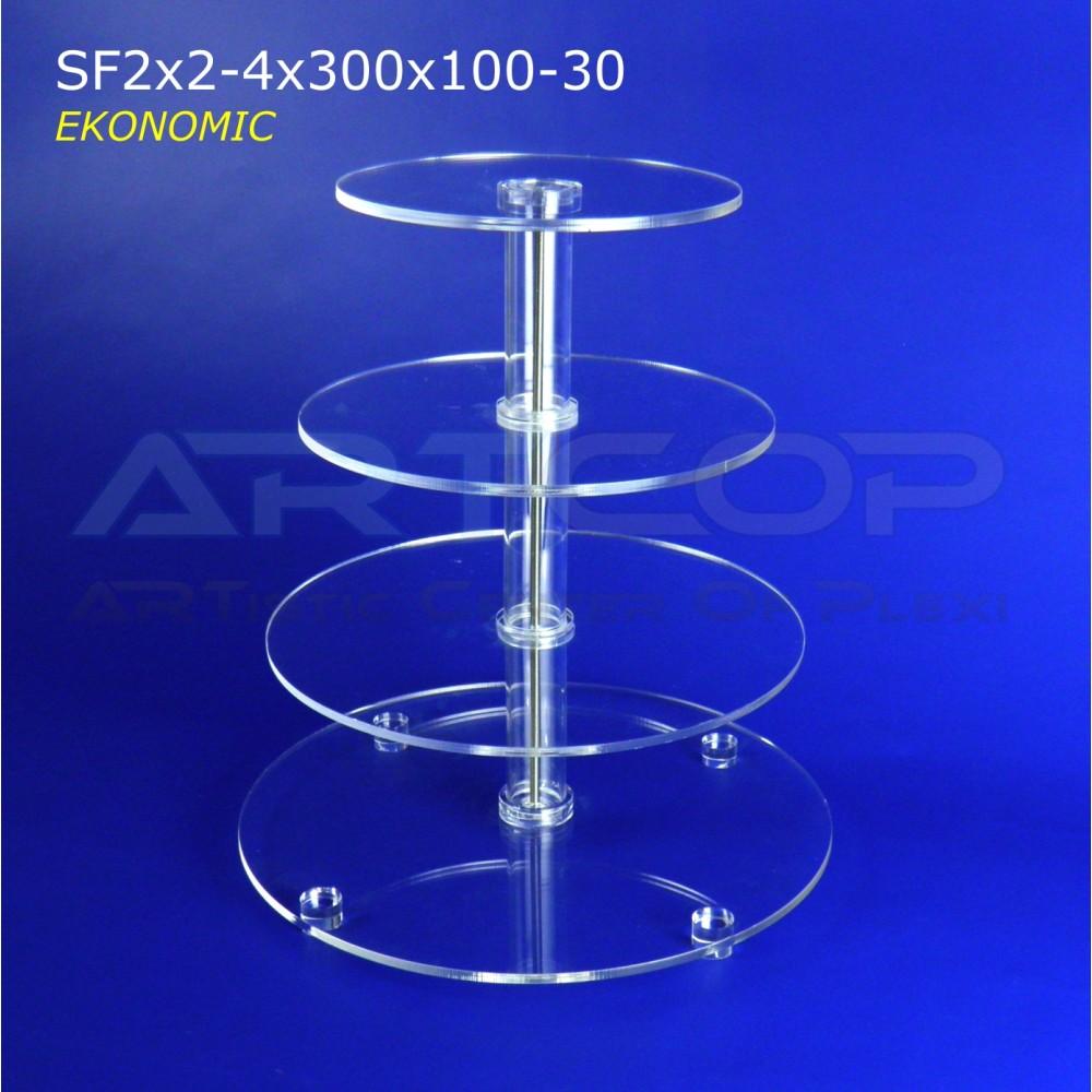 Tortownica KOŁOWA SF2x2-4x300x100-30