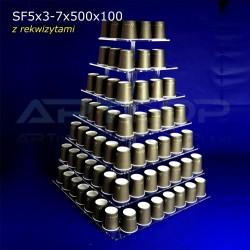 Patera KWADRATOWA SF5x3-7x500x100