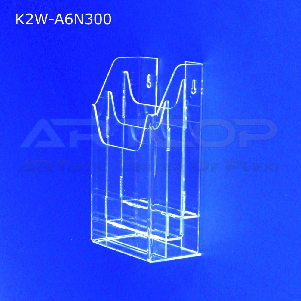Kieszeń, kaskada A6 x 3 wisząca K2W-A6N300