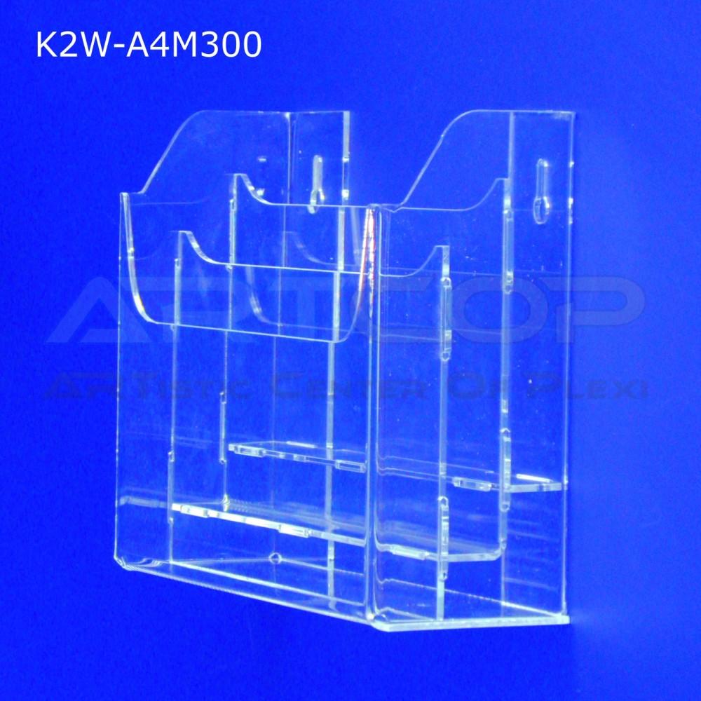 Kieszeń, kaskada A4 x 3 wisząca K2W-A4M300