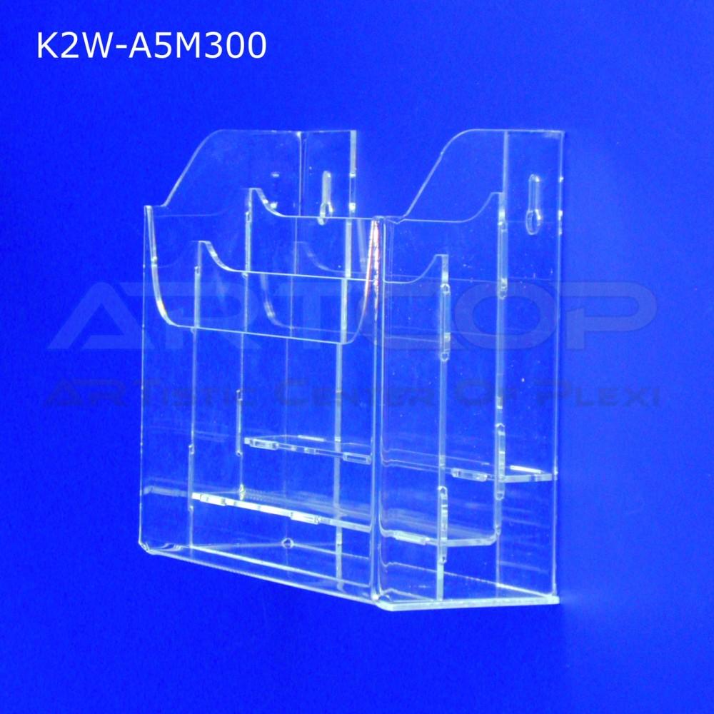 Kieszeń, kaskada A5 x 3 wisząca K2W-A5M300