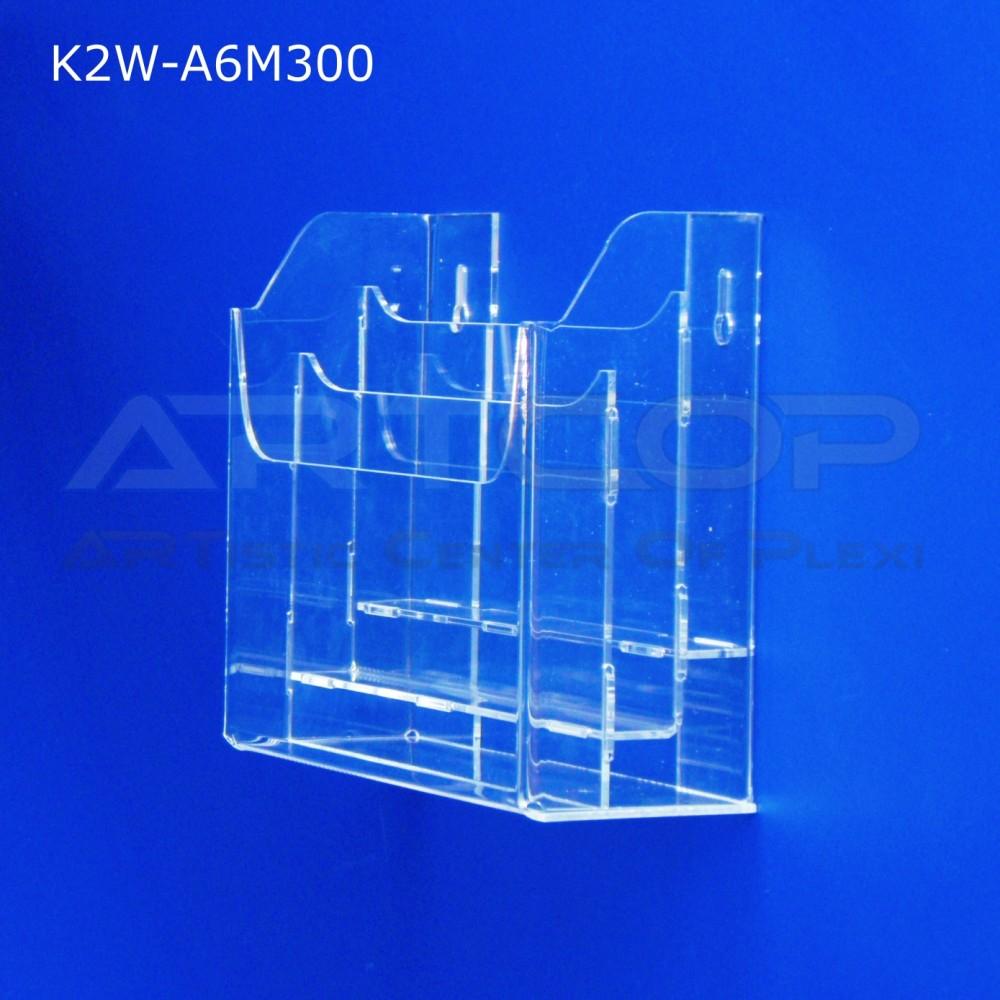 Kieszeń, kaskada A6 x 3 wisząca K2W-A6M300