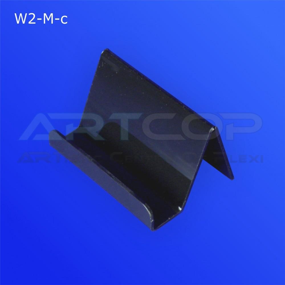 Wizytownik prosty W2-M - czarny