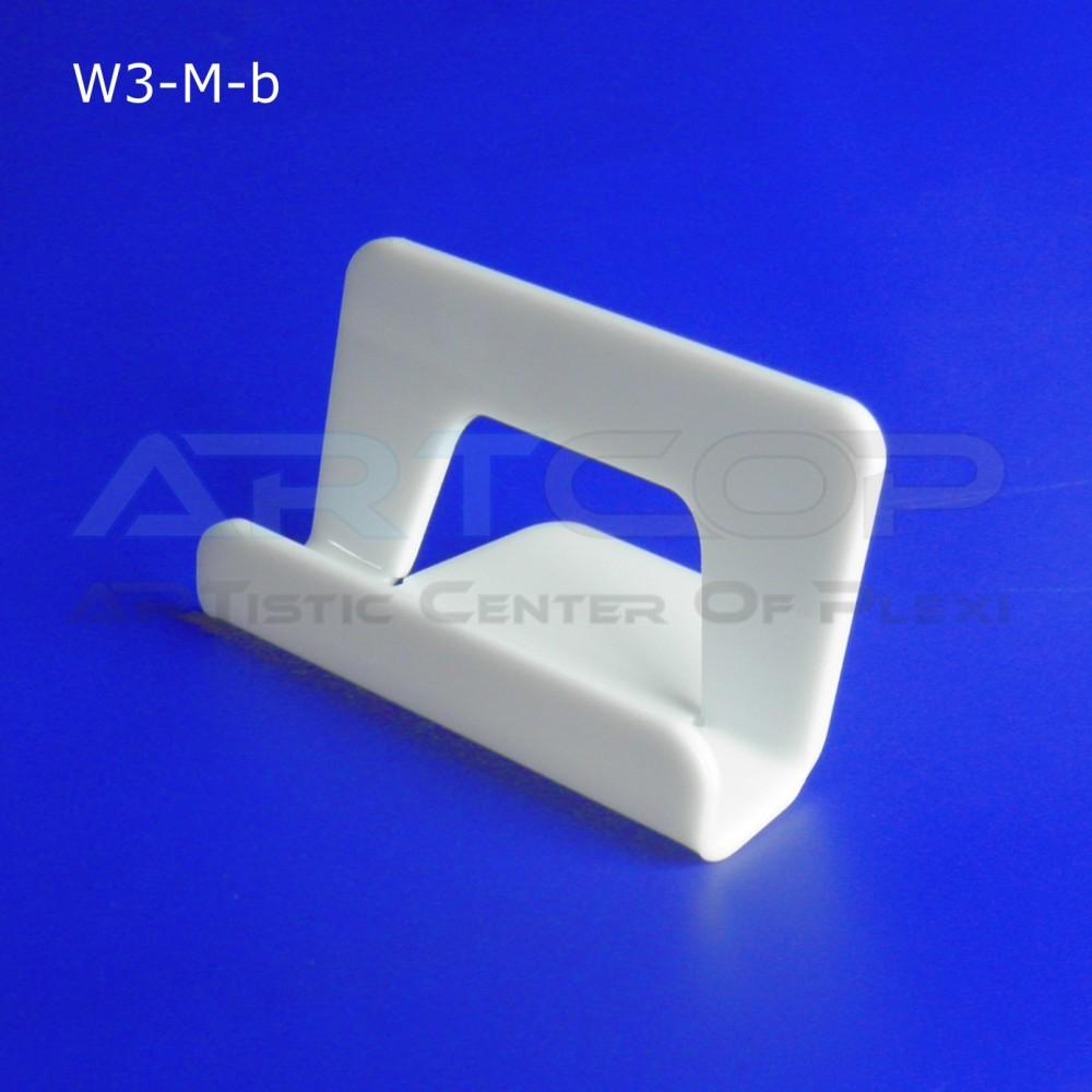 Wizytownik prosty W3-M - biały