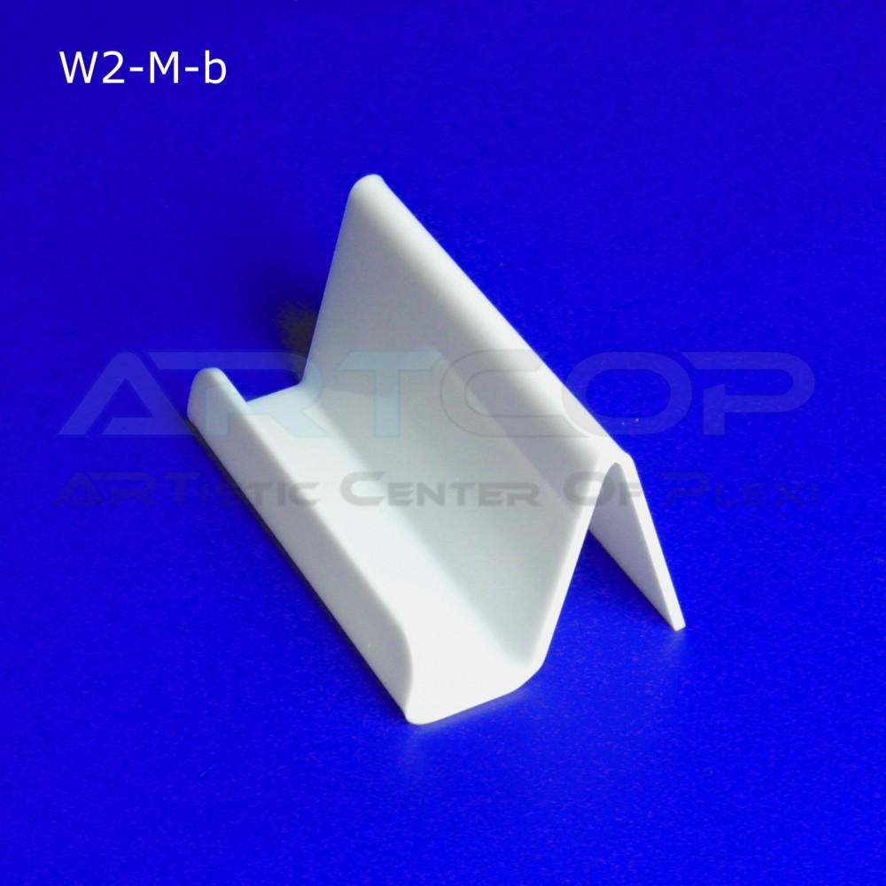 Wizytownik prosty W2-M - biały