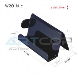 Wizytownik W2O-M z bokami O - czarny