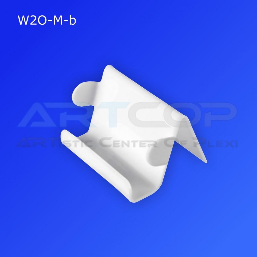 Wizytownik W2O-M z bokami O - biały