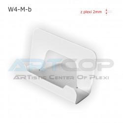Wizytownik profilowany W4-M - biały