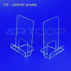Ulotnik U3 prosty - pion A6 STRONG U3-A6N-30
