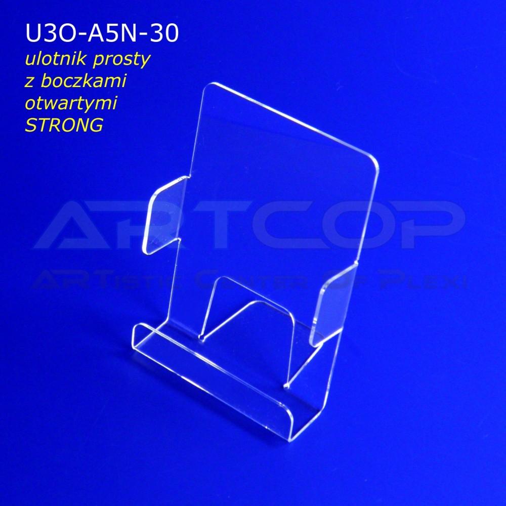 Ulotnik A5 PION z bokami otwartymi U3O-A5N-30