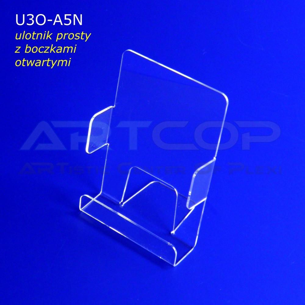 Ulotnik A5 PION z bokami otwartymi U3O-A5N