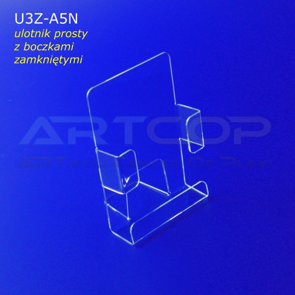 Ulotnik A5 PION z bokami zamkniętymi U3Z-A5N