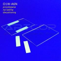 Koszulka A6 PION z taśmą dwustronnie klejącą - model O1W