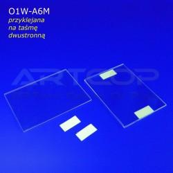 Koszulka A6 POZIOM z taśmą dwustronnie klejącą - model O1W